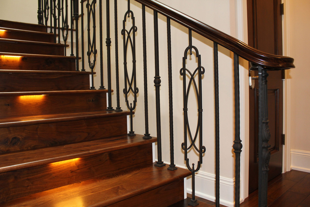 Stair Railings | Mission Iron Shop